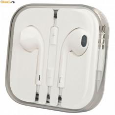 Casti Telefon, Alb - Casti iPhone 5 MD827ZM/A albe