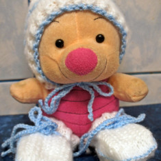 Costumas bebe 4 piese mohair tricotat manual - LA COMANDA