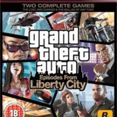 Jocuri PS3 Rockstar Games, Actiune, 18+, Single player - Grand Theft Auto (GTA): Episodes from Liberty City - Joc ORIGINAL - PS3