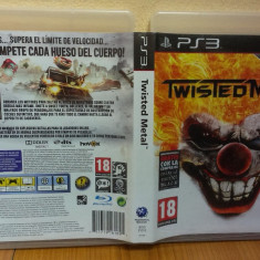 Twisted Metal (PS3) (ALVio) + sute de alte Jocuri PS3 Sony originale ( VAND / SCHIMB ), Shooting, 18+