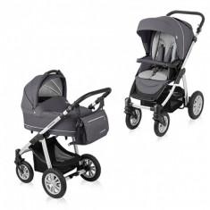 Carucior copii 2 in 1 - Carucior multifunctional 2 in 1 Lupo Comfort Graphite Baby Design
