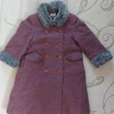 Paltonas de stofa, marca Sweet Pea/ Debenhams, fetite 3-4 ani, Culoare: Mov, Fete