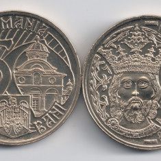 Monede Romania, An: 2011, Alama - ROMANIA 50 BANI 2011 Mircea cel Batran, UNC (necirculata), livrare in cartonas