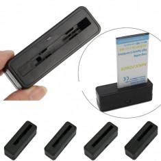 Dock incarcare baterie Samsung Galaxy S5 G900 i9600 + folie protectie ecran + expediere gratuita Posta - Dock telefon