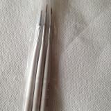 Pensule manichiura, set 3, pensule pictura unghii, unghii false, unghii gel - Unghii modele