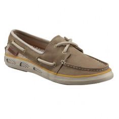 Pantofi Columbia Vulc N Vent Boat Lace Suede pentru dame (CLM-BL2618M-212) - Adidasi dama Columbia, Marime: 36, 40, Culoare: Bej