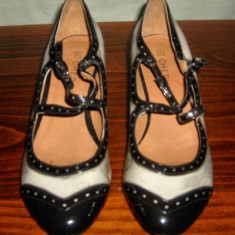 Pantof dama Made in Italia din piele lacuita Chedive marimea 39 - Super Pret, Culoare: Din imagine, Piele naturala