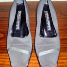 Pantof dama Made in Italia Norma J. Baker piele si catifea marimea 37, 5 - Super Pret, Culoare: Din imagine, Piele naturala