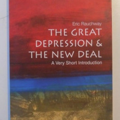 THE GREAT DEPRESSION & THE NEW DEAL, A VERY SHORT INTRODUCTION de ERIC RAUCHWAY - Carte Economie Politica