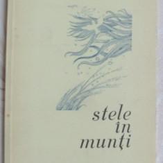 ION MARGINEANU - STELE IN MUNTI (VERSURI, editia princeps - 1976) [coperta DUMITRU RISTEA] - Carte poezie