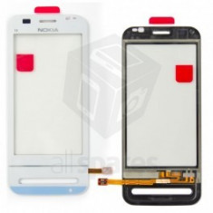 Touchscreen Nokia C6 alb - Touchscreen telefon mobil Blackberry