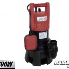 Pompa gradina - 070134-Pompa submersibila pentru golire apa murdara 1300 W