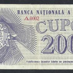 Bancnota Straine, Europa, An: 1992 - MOLDOVA 200 CUPOANE 1992 [0] P-2 XF