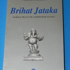 VARAHAMIHIRA - BRIHAT JATAKA MARELE TRATAT DE ASTROLOGIE NATALA - Carte Hobby Astrologie