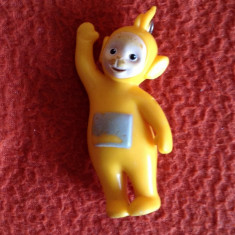 Miniatura/Figurina - Figurina Laa-Laa Personaj Teletubbies, Germany (Germania) 1996, 7 cm, colectie