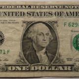 Bancnota Straine - Statele Unite ale Americii - 1 Dollar 2009 - F - Atlanta