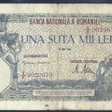 ROMANIA 100000 100.000 LEI 28 MAI 1946 [4]