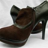 Pantofi cu fermoar/ Ghetute cu fermoar