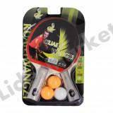 Paleta ping pong - Set palete tenis de masa - Set palete ping pong