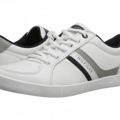 Adidasi barbati Tommy Hilfiger, Piele naturala - Pantofi sport piele Tommy Hilfiger Toby masura 41