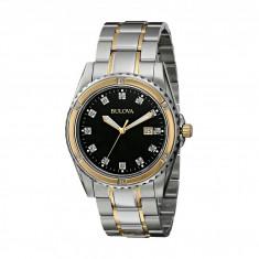 Ceas Bulova Mens Diamond - 98D122 | 100% originali, import SUA, 10 zile lucratoare - Ceas barbatesc