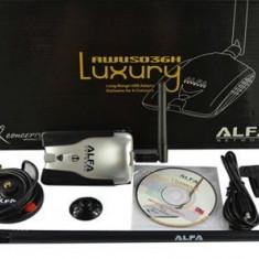 Adaptor wireless - Ultima Versiune Alfa Luxury AWUS036H V5 Chipset Realtek 3070