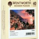 Carte hobby - Puzzle din lemn. Positano. 40 piese