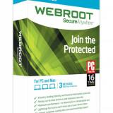 Webroot SecureAnywhere 2015 IS  (ORIGINAL) GARANTIE 1AN 3 Licente