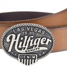 Curea Tommy Hilfiger model Denim Las Vegas - Curea Barbati Diesel, Marime: 115cm, 120cm, Culoare: Din imagine