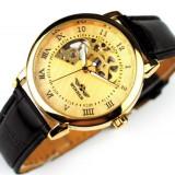 Ceas barbatesc - Ceas Mecanic Ceas Winner Imperial Gold Editie speciala