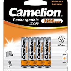 Baterie Aparat foto - Acumulator Camelion HR03 Micro AAA 1100mAh 4 buc. / Blister