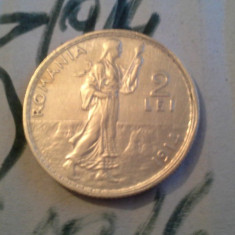 Monede Romania, An: 1914 - 2 LEI 1914 ARGINT /3 SUPERB DE COLECTIE