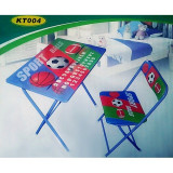 Masuta si scaun pliabil pentru elevi KT 004