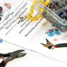 Handmade - Kit incepatori pentru Confectionat Bijuterii