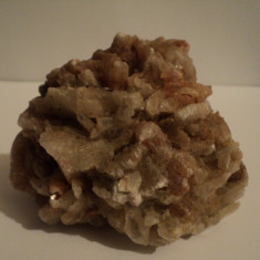 Fosila roca, Naturala, Cuart - Floare mina Cuart roz