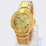 CEAS DAMA GUESS PREMIUM MULTIZONE2 GOLD&DIAMONDS EDITION-SUPERB-COLECTIE 2016
