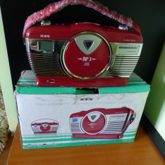 Radio CD Player MP3 USB ICES