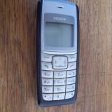 Telefon Nokia, Albastru, Nu se aplica, Neblocat, Fara procesor, Nu se aplica - NOKIA 1110i, FUNCTIONEAZA .NU ARE BATERIE .