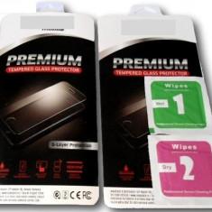 Geam protectie display sticla 0, 26 mm iPhone 5 / 5S FATA+SPATE - Folie de protectie Apple, Anti zgariere