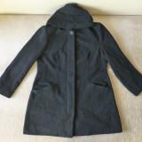 Palton; marime 44, vezi dimensiuni exacte; 70% lana, 20% poliester, 5% alte - Palton barbati, Culoare: Din imagine