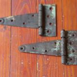 Lot 2 bucati - Balamale din metal model vechi - functionale !!! - Metal/Fonta