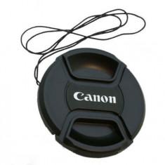 Capac Obiectiv Foto - Capac obiectiv 58mm pentru obiective Canon