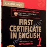 First Certificate in English 1 (FCE 1). With answers and Cd - Certificare