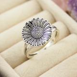 Inel argint - Inel din Argint 925, model floare, cod 585