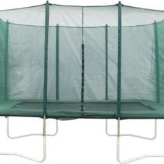 Trambulina copii - Plasa de protectie pentru trambulina dreptunghiulara, 210 X 300 cm