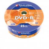 Verbatim DVD-R 16x, 4.7 GB, 25 bucati