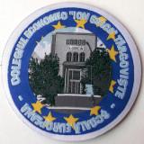 ROMANIA ECUSON TEXTIL COLEGIUL ECONOMIC ION GHICA TARGOVISTE 85 mm **