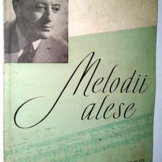 Melodii alese - Misu Iancu 1964 - Carte Arta muzicala