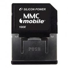MMC SILICONE POWER model: SP512MB capacitate: 512 MB culoare: NEGRU - Multimedia card