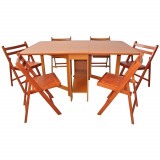 Masa bucatarie - Set masa plianta de 8 persoane